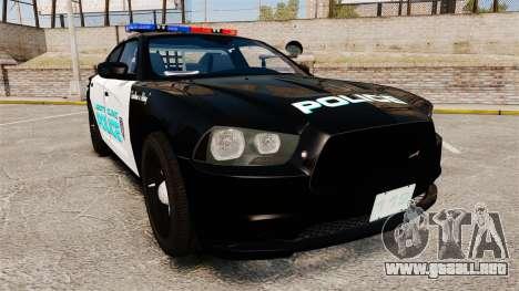 Dodge Charger 2011 Liberty Clinic Police [ELS] para GTA 4