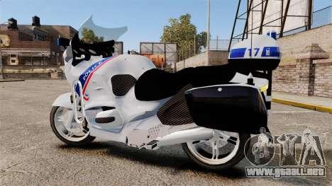 BMW R1150RT Police nationale [ELS] para GTA 4 left