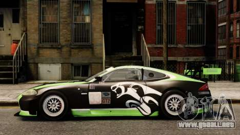 Jaguar XKR GT para GTA 4 left