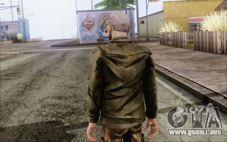 Pete from Walking Dead para GTA San Andreas segunda pantalla