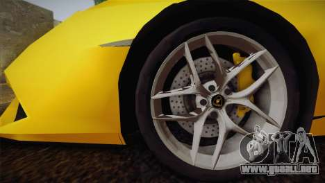 Lamborghini Huracane LP 610-4 V2.0 para GTA San Andreas left
