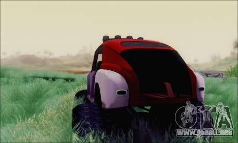 GAS M20 Monstruo para GTA San Andreas vista posterior izquierda