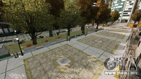 Ilegal de la calle deriva de la pista para GTA 4 twelth pantalla