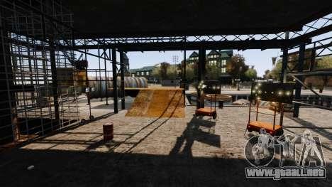 Ilegal de la calle deriva de la pista para GTA 4 undécima de pantalla