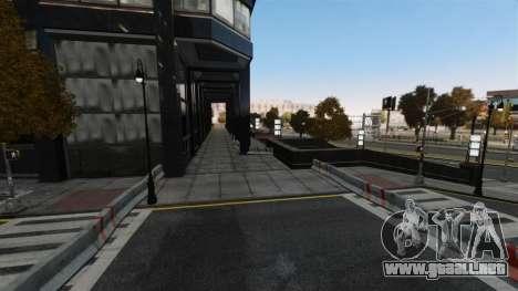 Ilegal de la calle deriva de la pista para GTA 4 quinta pantalla
