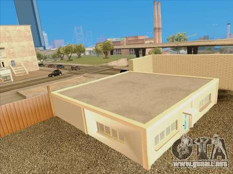 Actualizado texturas de la escuela de conducción para GTA San Andreas sucesivamente de pantalla