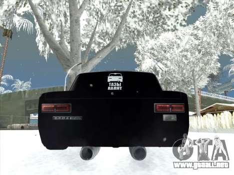 ВАЗ 2101 Optimización de Estilo para la visión correcta GTA San Andreas