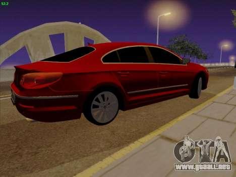 Volkswagen Passat CC para GTA San Andreas left