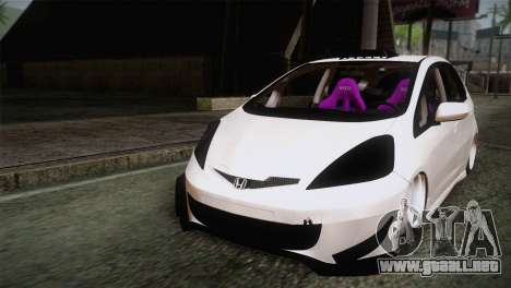 Honda Jazz RS Street Edition para GTA San Andreas