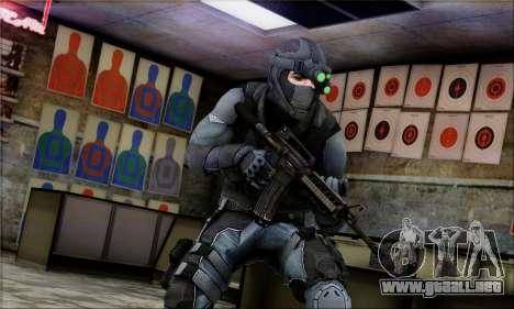 Alfa Team Weapon Pack para GTA San Andreas quinta pantalla