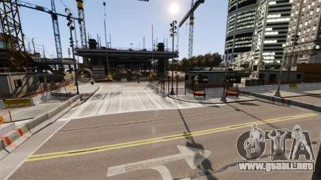 Ilegal de la calle deriva de la pista para GTA 4 décima de pantalla
