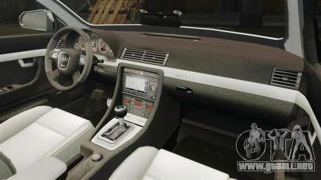 Audi S4 Avant TEK [ELS] para GTA 4 vista lateral