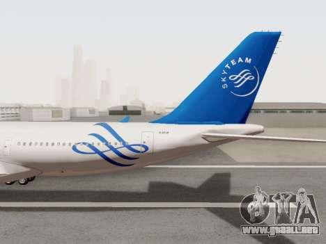 A330-202 China Eastern para visión interna GTA San Andreas