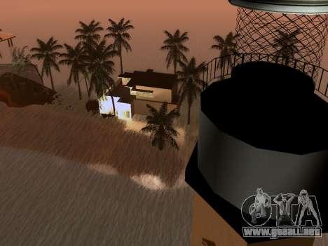 Nueva isla v1.0 para GTA San Andreas décimo de pantalla