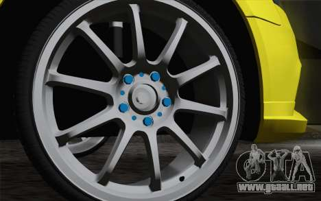 Audi S4 2010 para la visión correcta GTA San Andreas