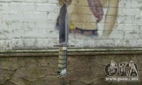 El cuchillo de Stalker para GTA San Andreas