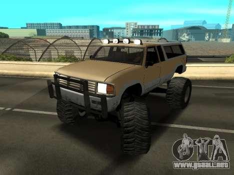 Nuevo Monstruo para GTA San Andreas