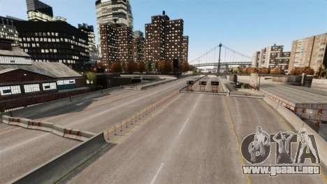 Ilegal de la calle deriva de la pista para GTA 4 sexto de pantalla