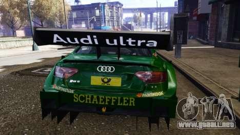 Audi RS5 DTM para GTA 4 visión correcta