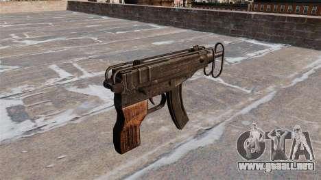 SUBFUSIL Skorpion vz. 61 para GTA 4 segundos de pantalla