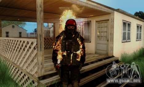 Kopassus Skin 1 para GTA San Andreas sexta pantalla