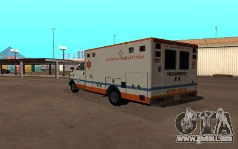 GTA 5 Ambulance para la visión correcta GTA San Andreas