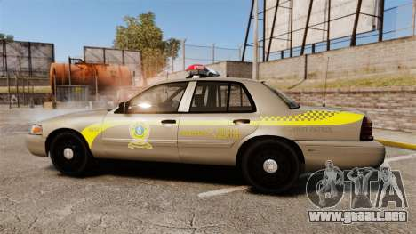 Ford Crown Victoria NLSP [ELS] para GTA 4 left