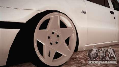 Fiat Palio BKModifiye para GTA San Andreas vista hacia atrás