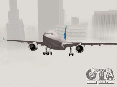A330-202 China Eastern para vista lateral GTA San Andreas