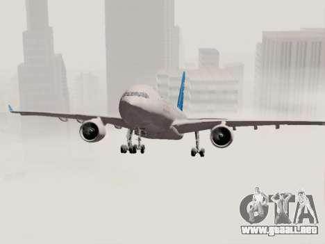 A330-202 China Eastern para vista lateral GTA San Andreas