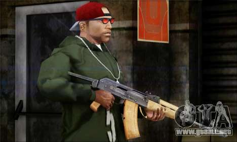 Alfa Team Weapon Pack para GTA San Andreas sexta pantalla