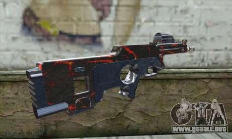 Rifle para GTA San Andreas segunda pantalla