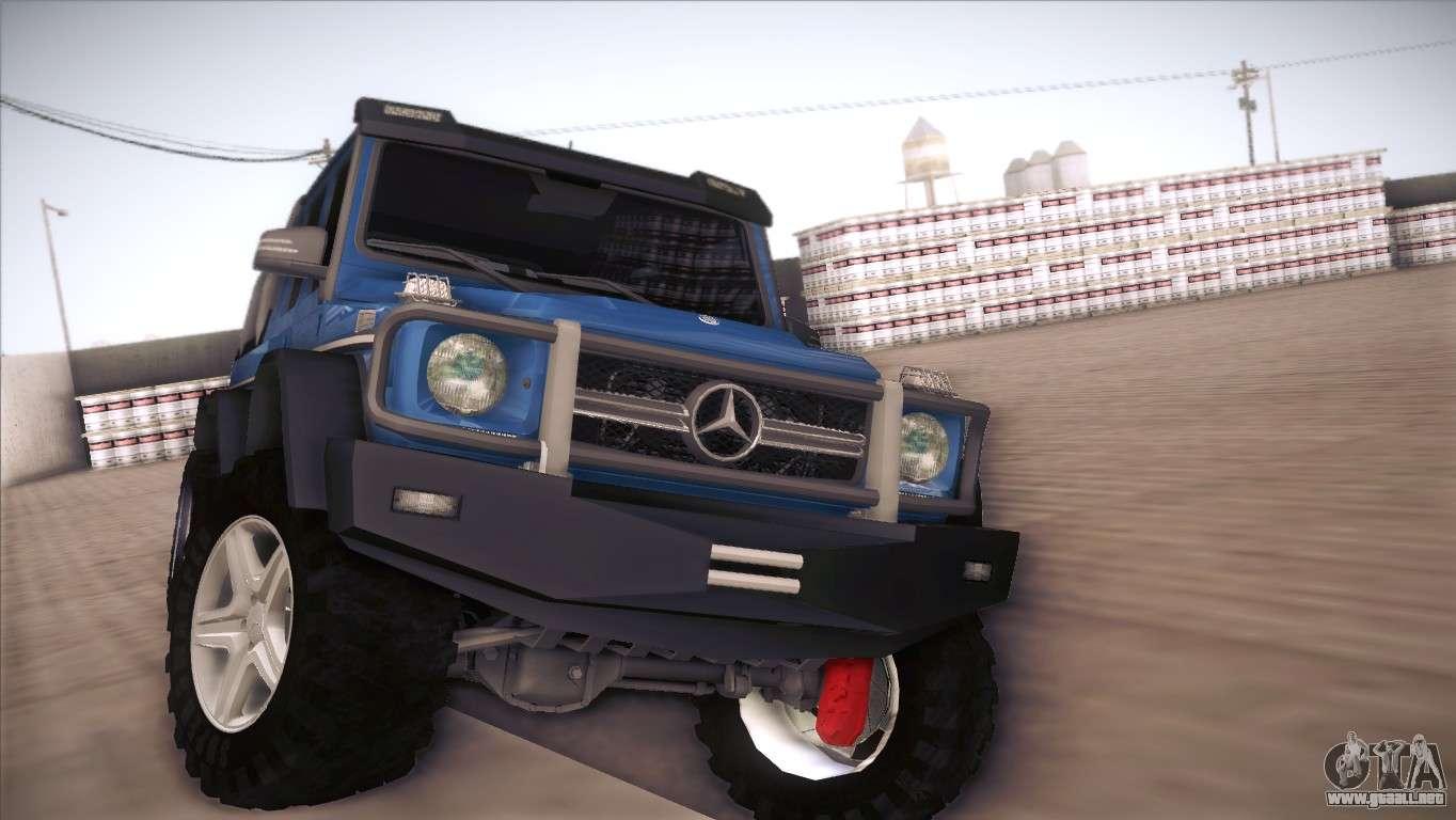 Mercedes Benz G63 Amg 6x6 Para Gta San Andreas