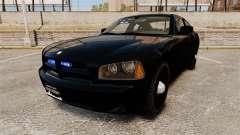 Dodge Charger Slicktop Police [ELS] para GTA 4
