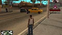 C-HUD hombre de Hierro para GTA San Andreas