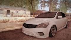 Kia Ceed 2011 SA Plates para GTA San Andreas