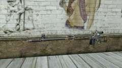 Rifle de francotirador de un Acosador