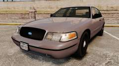 Ford Crown Victoria 2008 LCPD Detective [ELS] para GTA 4