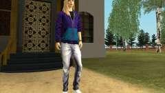 La Piel De Avril Lavigne para GTA San Andreas