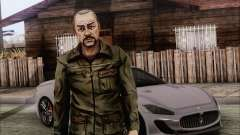 Pete from Walking Dead para GTA San Andreas