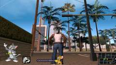 C-HUD Tom and Jerry para GTA San Andreas