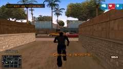 C-HUD Lumia GTA V para GTA San Andreas