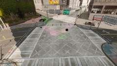 Ilegal de la calle deriva de la pista para GTA 4