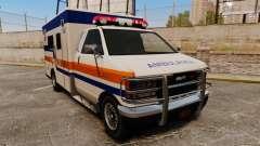 Brute CHMC Ambulance para GTA 4