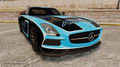 Mercedes-Benz SLS 2014 AMG Black Series Area 27