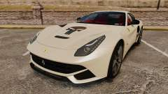 Ferrari F12 Berlinetta 2013 [EPM] Deaths-head para GTA 4
