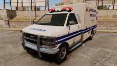 Brute MPMU Ambulance para GTA 4