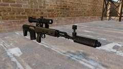 Rifle de francotirador SVD acortado