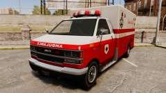 Iraní de pintura ambulancia