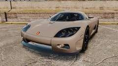 Koenigsegg CCX para GTA 4